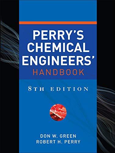 9780071422949: Perry's chemical engineer's handbook