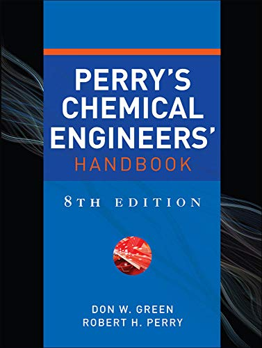 9780071422949: Perry's Chemical Engineers' Handbook, Eighth Edition