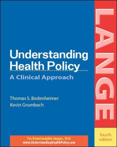 9780071423113: Understanding Health Policy