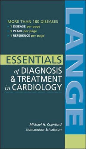 9780071423212: Essentials of Diagnosis & Treatment in Cardiology (Lange Medical Books)