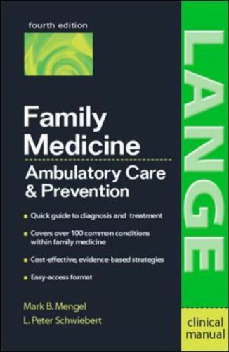 9780071423229: Family Medicine: Ambulatory Care and Prevention (Lange Clinical Manual)