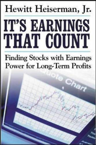 9780071423236: It's Earnings That Count : Finding Stocks with Earnings Power for Long-term Profits