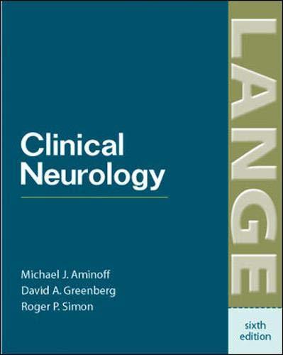 9780071423601: Clinical Neurology (LANGE Clinical Medicine)
