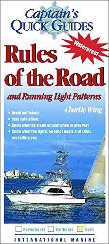 9780071423694: Rules of the Road and Running Light Patterns: A Captain's Quick Guide