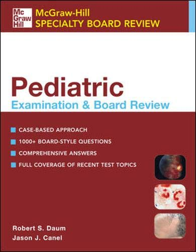 9780071423786: Pediatric Examination and Board Review (McGraw-Hill Specialty Board Review)
