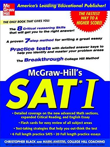 9780071423908: McGraw-Hill's SAT I