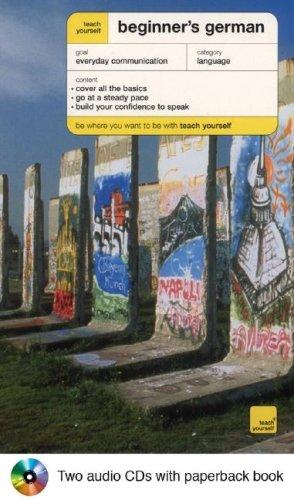 9780071424271: Teach Yourself Beginner's German Audiopackage