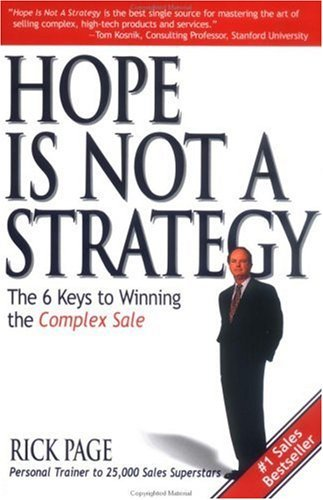 9780071424868: Hope is Not a Strategy (SIGNED)