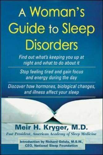 9780071425278: A Woman's Guide to Sleep Disorders