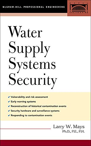 9780071425315: Water Supply Systems Security