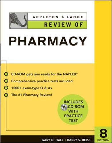 9780071425438: Appleton & Lange Review of Pharmacy