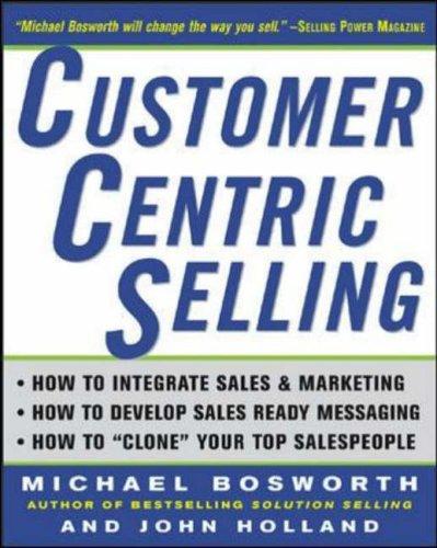 9780071425452: CustomerCentric Selling