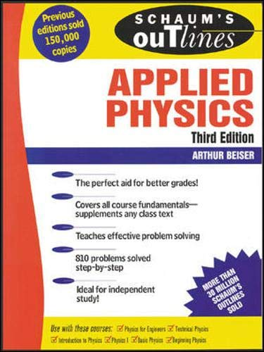 9780071426114: Schaum's Outline of Applied Physics (Schaum's Outline Series)