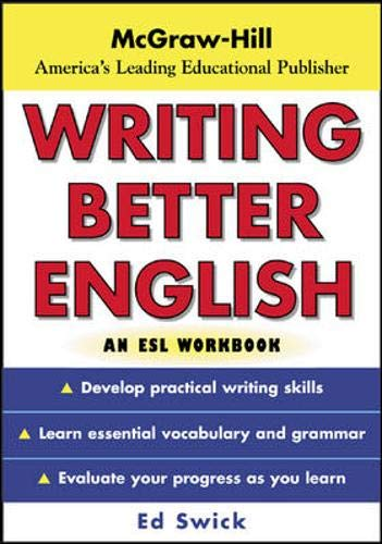 9780071426435: Writing Better English : An ESL Workbook