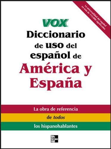 9780071426442: Vox Diccionario de uso del espanol de America y Espana (VOX Dictionary Series)