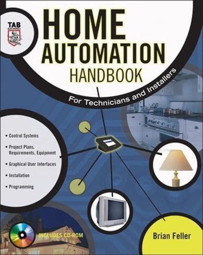 9780071427364: Home Automation Handbook: For Technicians and Installers