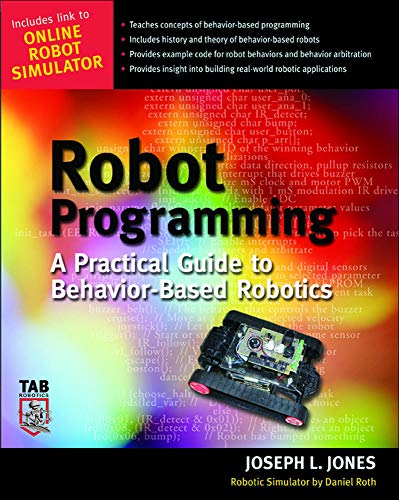 9780071427784: Robot Programming: A Practical Guide to Behavior-Based Robotics (Tab Robotics)