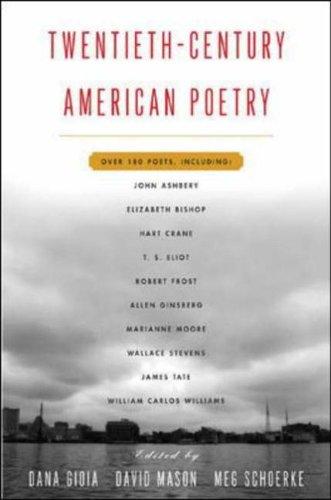9780071427791: Twentieth Century American Poetry