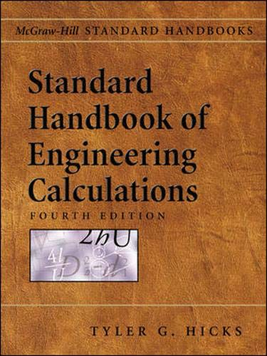 9780071427937: Standard Handbook of Engineering Calculations