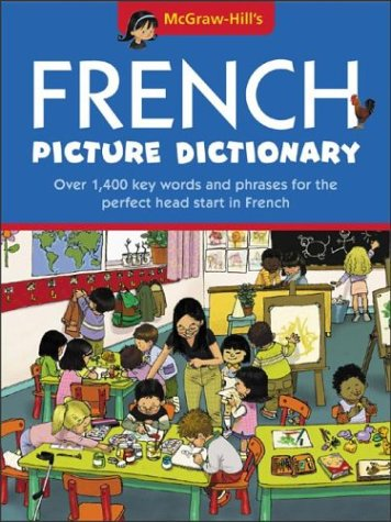 9780071428132: McGraw-Hill's French Picture Dictionary
