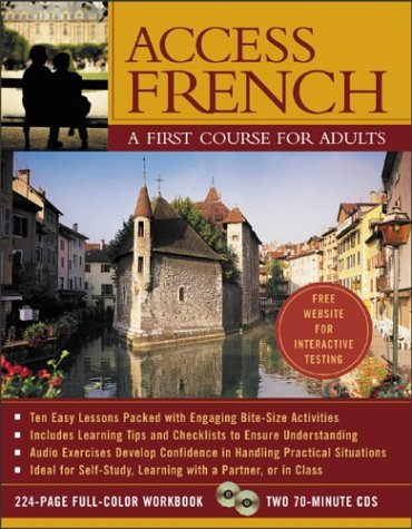 9780071428217: Access French (Book + Audio CD): A First Course for Adults (Access Languages)