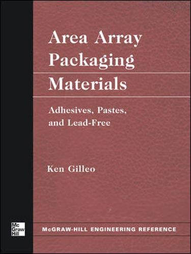 9780071428286: Area Array Packaging Materials: Adhesives, Pastes, and Lead-Free