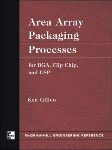 9780071428293: Area Array Packaging Processes: for BGA, Flip Chip, and CSP