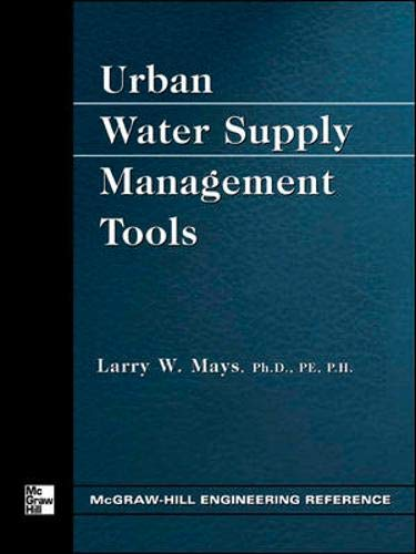 9780071428361: Urban Water Supply Management Tools