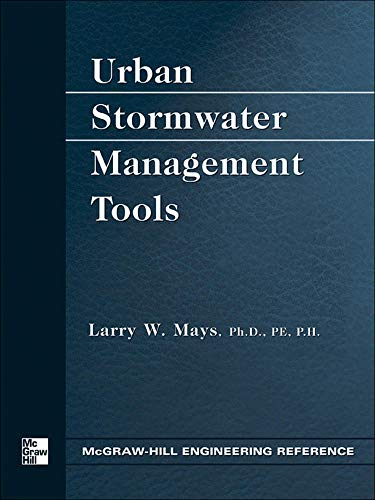 9780071428378: Urban Stormwater Management Tools (Engineering Reference)