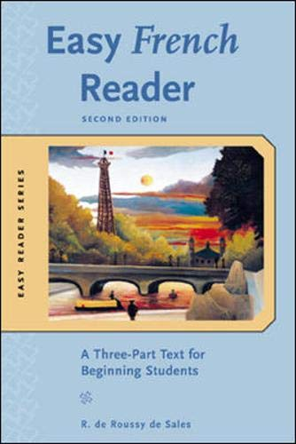 9780071428484: Easy French Reader, Second Edition: A Three-part Text for Beginning Students (Easy Reader Series)