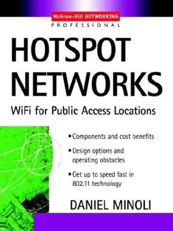 9780071429085: Hotspot Networks