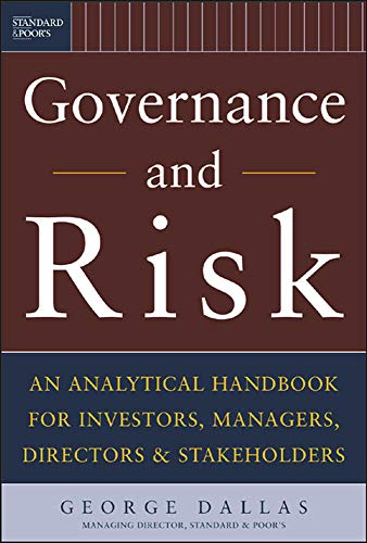 9780071429542: Governance and Risk