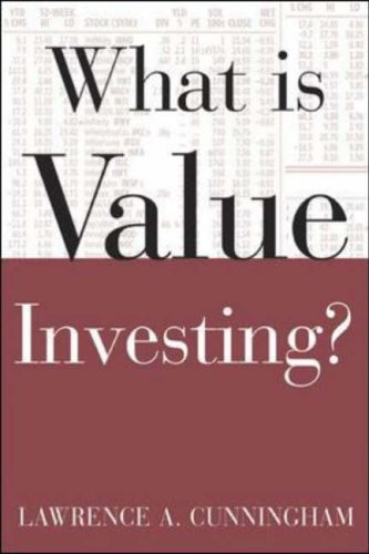 9780071429559: What Is Value Investing? (What Is the What Is . . . Series)