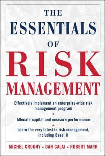 9780071429665: The Essentials of Risk Management