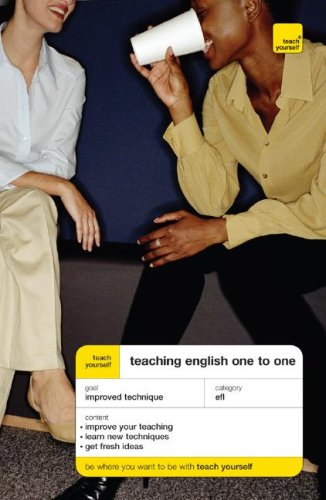 9780071429924: Teach Yourself Teaching English One to One