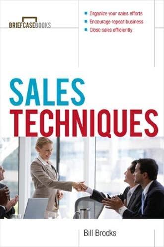 9780071430012: Sales Techniques (Briefcase Books Series)