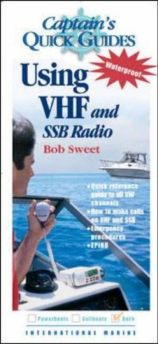 9780071430470: Using VHF and SSB Radios: Captain's Quick Guides