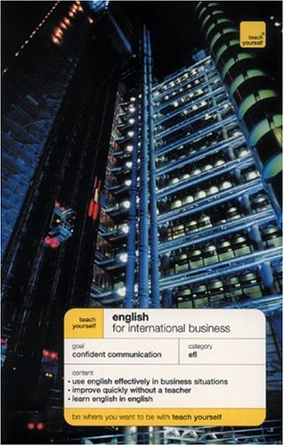 9780071430593: Teach Yourself English for International Business (book only)