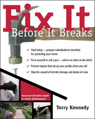 9780071430692: Fix it Before it Breaks