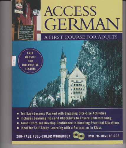 9780071430791: Access German: A first course for adults