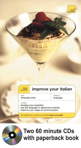 9780071430852: Teach Yourself Improve Your Italian, CD package