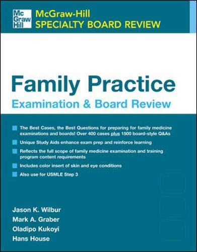 9780071431309: Family Practice Examination and Board Review