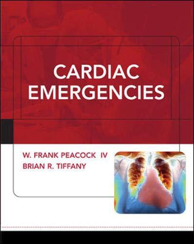 9780071431316: Cardiac Emergencies
