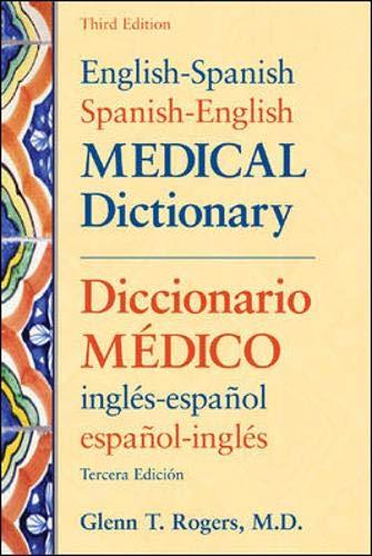 9780071431866: English-Spanish/Spanish-English Medical Dictionary, Third Edition: Diccionario Maedico Inglaes-Espaanol Espaanol-Inglaes