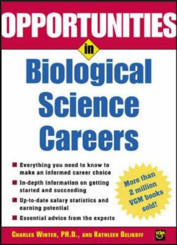 9780071431873: Opportunities in Biological Science Careers (Opportunities In! Series)