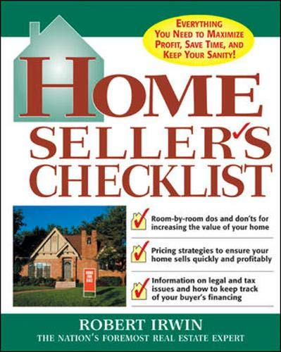9780071432153: Home Seller's Checklist: Everything You Need to Know to Get the Highest Price for Your House