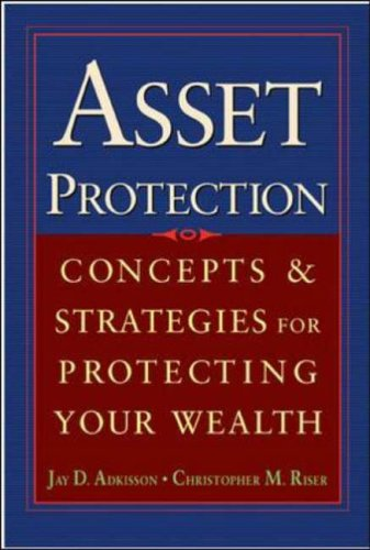 9780071432160: Asset Protection: Concepts and Strategies for Protecting Your Wealth (General Finance & Investing)