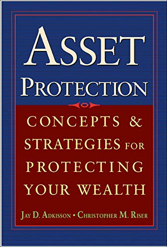 9780071432160: Asset Protection : Concepts and Strategies for Protecting Your Wealth