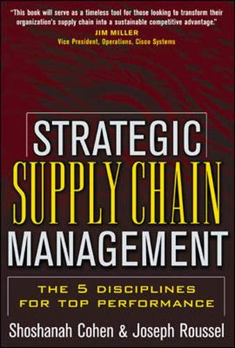 Strategic Supply Chain Management: Shoshanah Cohen; Joseph Roussel