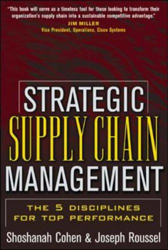 9780071432177: Strategic Supply Chain: The Five Disciplines for Top Performance
